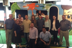 Nielsen Executives visit